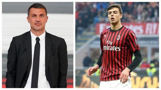 Paolo Malldini và con trai Daniel