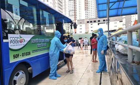 Co.op Food tăng tốc giao hàng cho các đầu mối mua chung bằng nhiều xe buýt ảnh 2