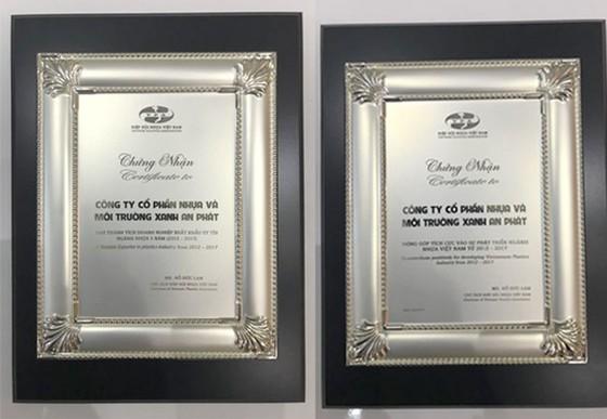 2 giải thưởng tạo động lực cho AN PHAT PLASTIC ảnh 1