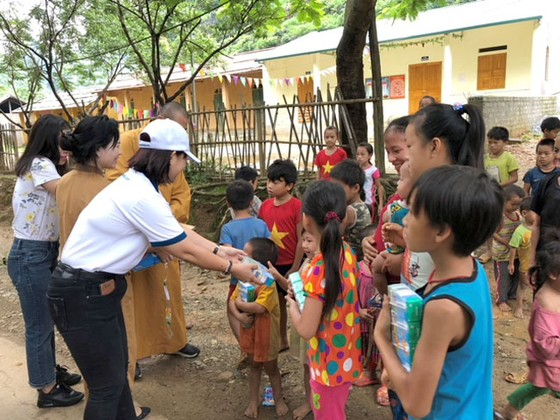 Phú Long tặng quà đồng bào bị ảnh hưởng bão lũ ở Hà Giang ảnh 1