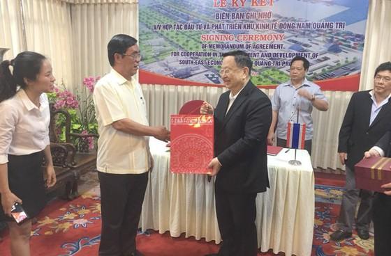 TPI Thái Lan ghi nhớ đầu tư tổ hợp dự án 7 tỷ USD vào Quảng Trị ảnh 1