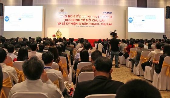15 năm Khu kinh tế mở Chu Lai: Thu hút 4,5 tỷ USD vốn đầu tư ảnh 1