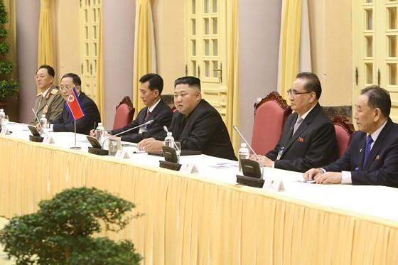 Lễ đón chính thức Chủ tịch Triều Tiên Kim Jong-un ảnh 14