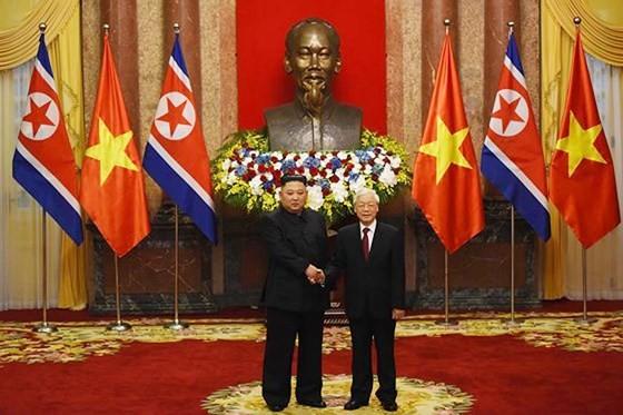 Lễ đón chính thức Chủ tịch Triều Tiên Kim Jong-un ảnh 7