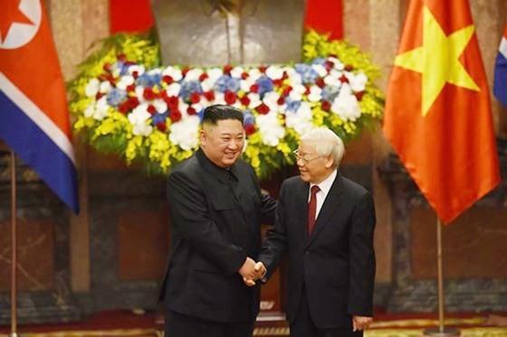 Lễ đón chính thức Chủ tịch Triều Tiên Kim Jong-un ảnh 8