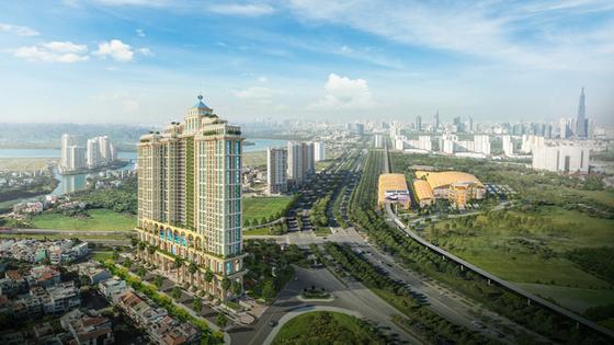 Khách ngoại mê mẩn biểu tượng kiến trúc mới Sài Gòn ảnh 2