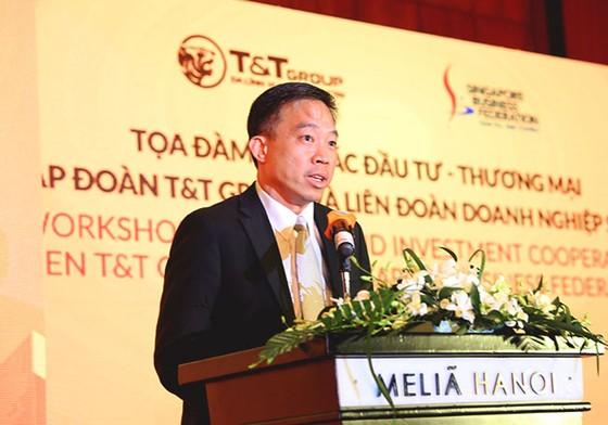 T&T Group hợp tác thương mại và đầu tư với Liên đoàn DN Singapore ảnh 2