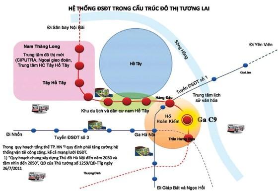 Có nên đặt ga tàu điện ngầm sát hồ Hoàn Kiếm? ảnh 1