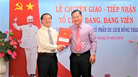 Chuyển giao Đảng bộ cơ sở CTCP Du lịch Đồng Tháp về tỉnh An Giang ảnh 1
