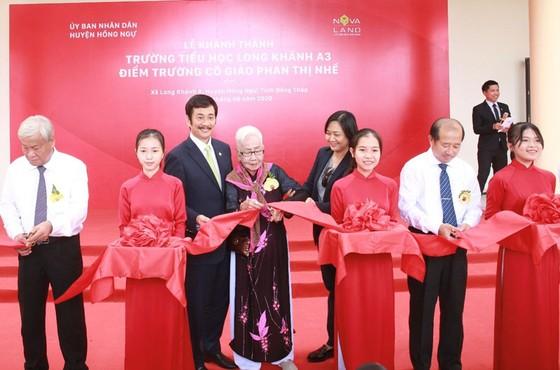 Khánh thành Trường Tiểu học Long Khánh A3 – điểm trường cô giáo Phan Thị Nhế ảnh 1
