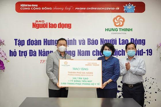 Hưng Thịnh tiếp sức Đà Nẵng và Quảng Nam phòng chống dịch Covid-19 ảnh 1