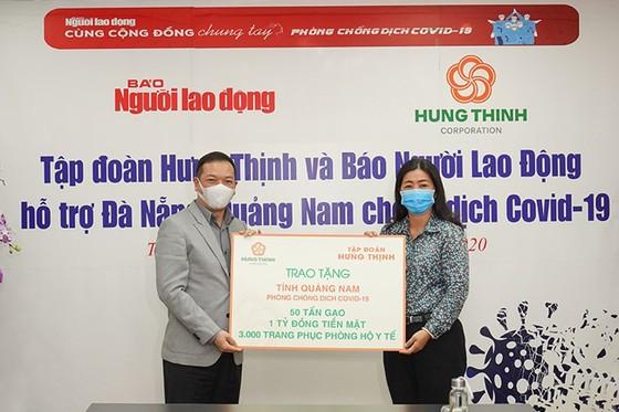 Hưng Thịnh tiếp sức Đà Nẵng và Quảng Nam phòng chống dịch Covid-19 ảnh 2