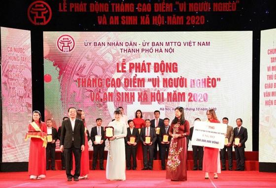 TNG Holdings Vietnam đồng hành cùng hoạt động an sinh xã hội TP Hà Nội  ảnh 1