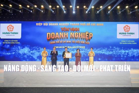 Hưng Thịnh nhận 3 giải thưởng Doanh nghiệp, Doanh nhân TPHCM tiêu biểu 2020 ảnh 1