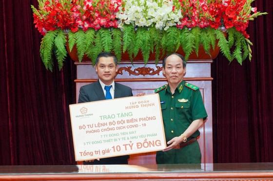 Hưng Thịnh tặng 10 tỷ đồng Bộ Tư lệnh Bộ đội Biên phòng hỗ trợ chống dịch Covid-19  ảnh 1