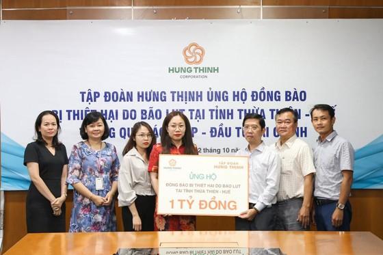 Tập đoàn Hưng Thịnh ủng hộ đồng bào Thừa Thiên-Huế 1 tỷ đồng ảnh 1