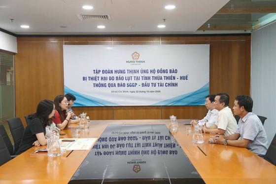 Tập đoàn Hưng Thịnh ủng hộ đồng bào Thừa Thiên-Huế 1 tỷ đồng ảnh 2