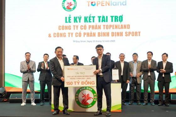 Topenland và Hưng Thịnh Land tài trợ 300 tỷ cho CLB bóng đá Topenland Bình Định ảnh 1