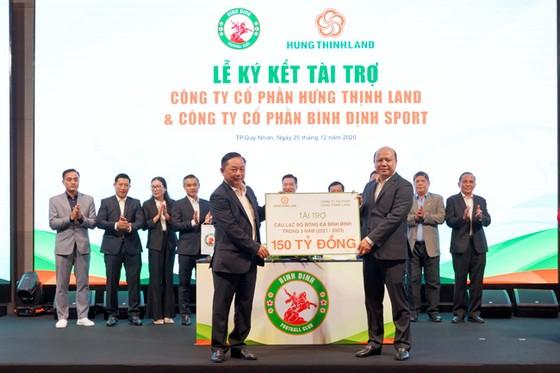 Topenland và Hưng Thịnh Land tài trợ 300 tỷ cho CLB bóng đá Topenland Bình Định ảnh 2