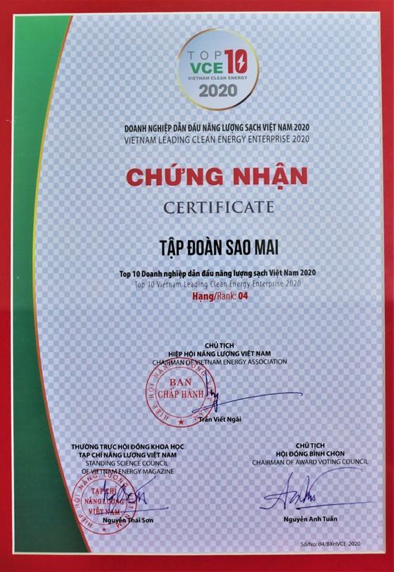 Sao Mai Group top 10 doanh nghiệp dẫn đầu năng lượng sạch Việt Nam ảnh 2