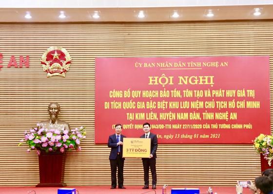 Công bố Quy hoạch bảo tồn Khu lưu niệm Chủ tịch Hồ Chí Minh tại Nghệ An ảnh 2