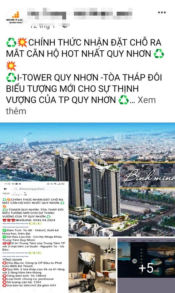 Cẩn thận mua bán, đầu tư căn hộ cao cấp I-Tower Quy Nhơn ảnh 1