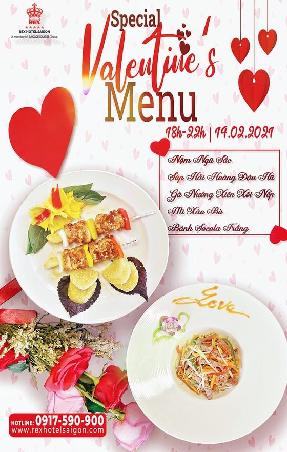 REX Sài Gòn giới thiệu set menu đặc biệt ngày Lễ tình nhân 14-2  ảnh 1