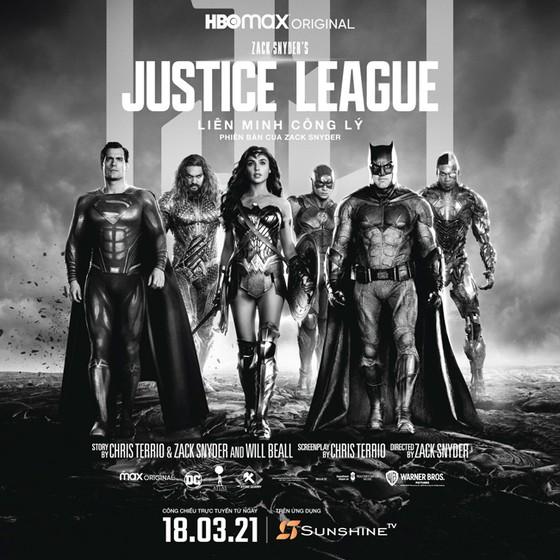 """9 bất ngờ về bom tấn điện ảnh """"Zack Snyder's Justice League"""" công chiếu trên Sunshine TV ảnh 1"""