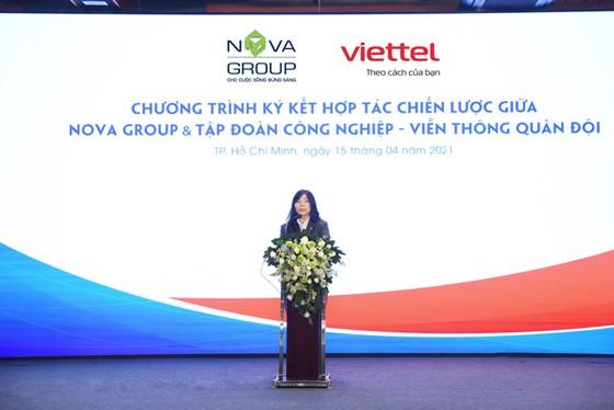 Novagroup và Viettel ký kết hợp tác chiến lược ảnh 1