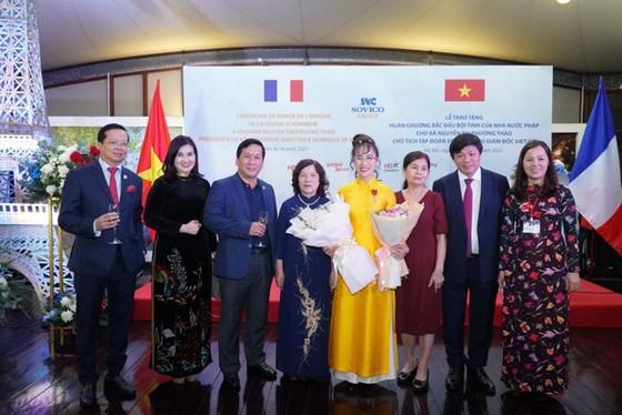 Bà Nguyễn Thị Phương Thảo nhận Huân chương Bắc đẩu bội tinh của Pháp ảnh 3