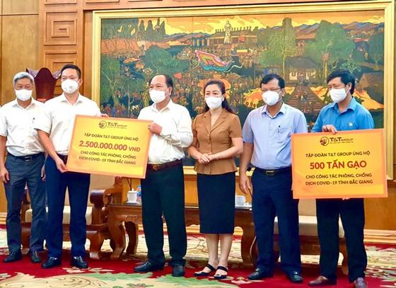 T&T Group ủng hộ 1.000 tấn gạo và 5 tỷ đồng tiếp sức Bắc Ninh, Bắc Giang chống dịch ảnh 1