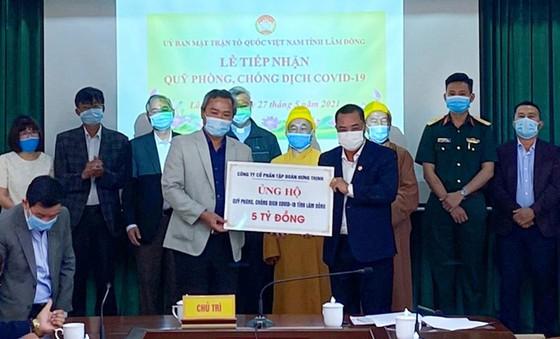 Hưng Thịnh trao tặng 50.000 liều vaccine phòng, chống Covid-19 cho tỉnh Bình Định ảnh 1