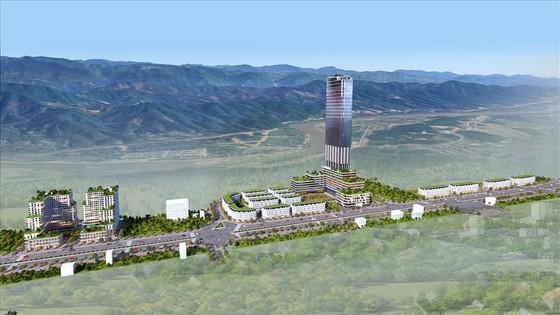 Phối cảnh tổng thể dự án xây dựng Khu nhà ở thương mại và các công trình hỗn hợp – dịch vụ, Khu đô thị mới Lào Cai - Cam Đường, thành phố Lào Cai. Nguồn: T&T
