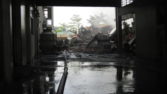Cảnh tan hoang sau vụ cháy ở KCN Việt Hương ảnh 4