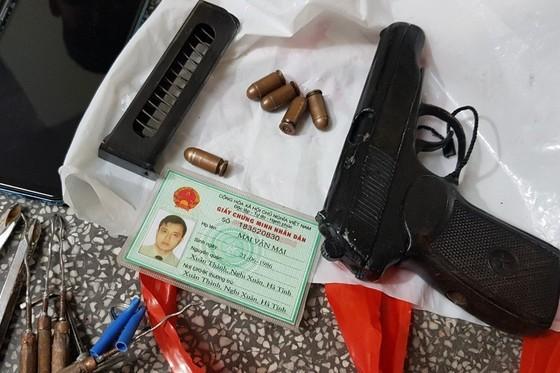 Bắt băng trộm sử dụng vũ khí 'nóng' ảnh 1