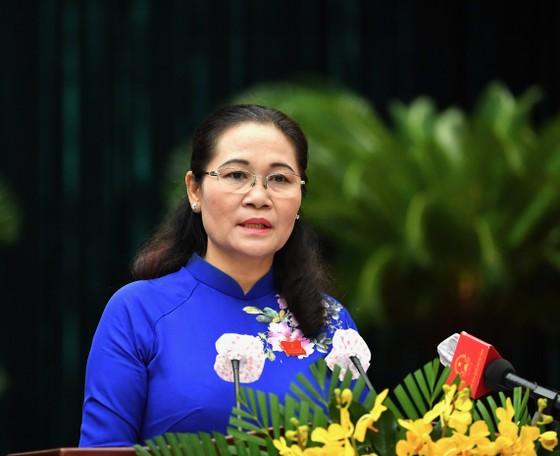 Đại biểu HĐND TPHCM trong kỳ họp thứ nhất khóa X nhiệm kỳ 2021-2026 ảnh 9