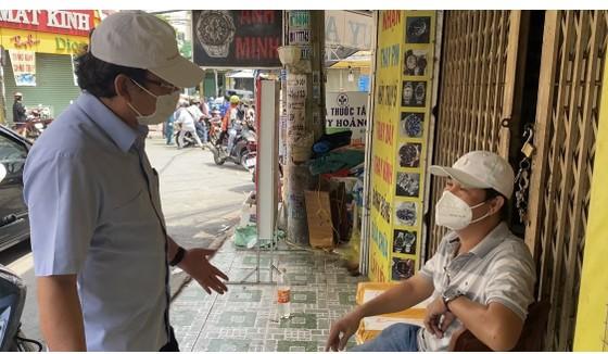 Bí thư Thành ủy TPHCM Nguyễn Văn Nên kiểm tra đột xuất công tác phòng chống dịch tại cơ sở ảnh 6