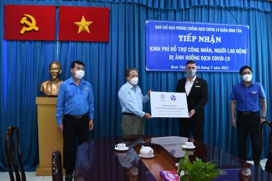 Hỗ trợ 2 tỷ đồng chăm lo công nhân, lao động quận Bình Tân ảnh 1