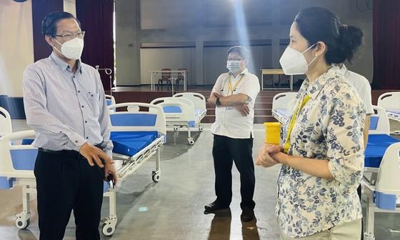 Phó Bí thư Thường trực Thành ủy TPHCM Phan Văn Mãi: Xây dựng cộng đồng an toàn và không Covid-19 ảnh 6