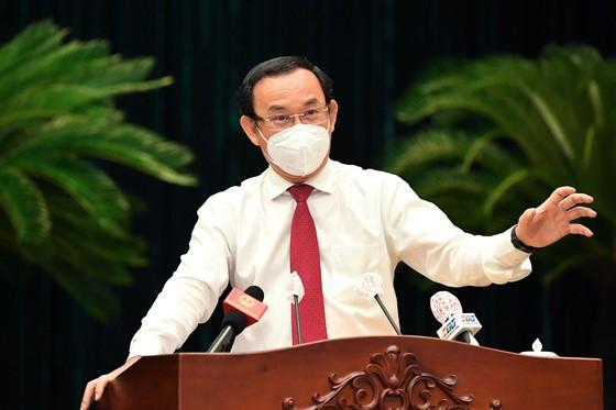 Bí thư Thành ủy TPHCM Nguyễn Văn Nên: Đại biểu HĐND TPHCM là những 'chiến sĩ' quan trọng trên mặt trận chống dịch ảnh 1