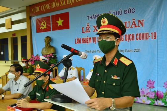 300 cán bộ, học viên Trường Cao Đẳng Hải quân và Trường Sĩ quan Lục Quân 2 tham gia chống dịch  ảnh 1