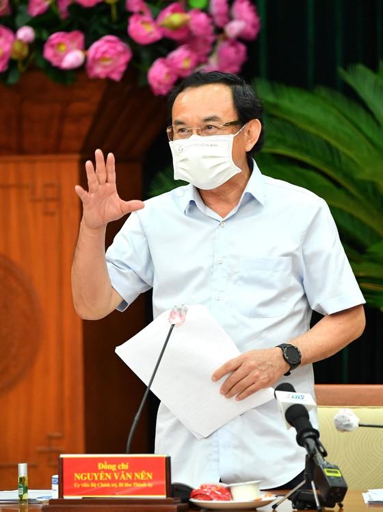 Bí thư Thành ủy TPHCM Nguyễn Văn Nên: Phải bám cơ sở, bám địa bàn, bám pháo đài để chống dịch ảnh 3