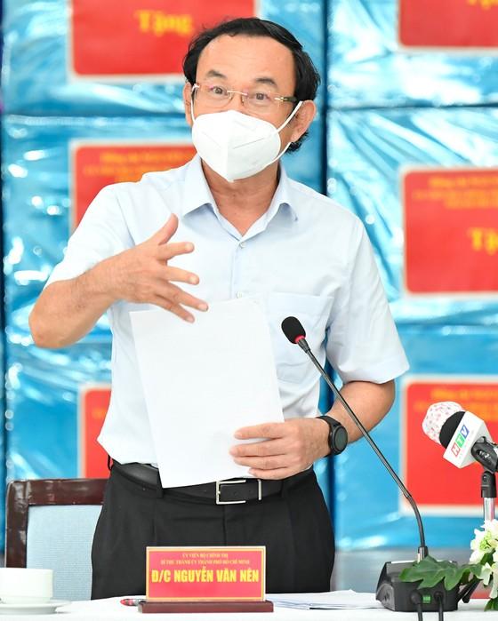 Bí thư Thành ủy TPHCM: Lên các kịch bản phù hợp để TP Thủ Đức sớm trở lại giai đoạn 'bình thường mới' ảnh 3