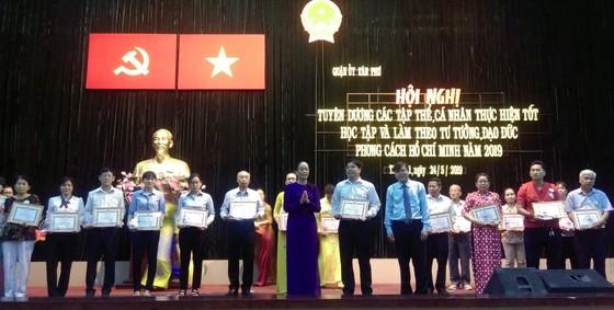 Quận Tân Phú tuyên dương gương làm theo Bác ảnh 3