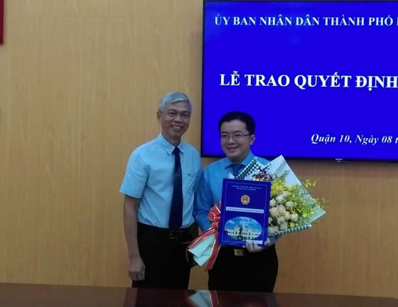 Ông Nguyễn Huy Chiến giữ chức vụ Phó Chủ tịch UBND quận 10 ảnh 1
