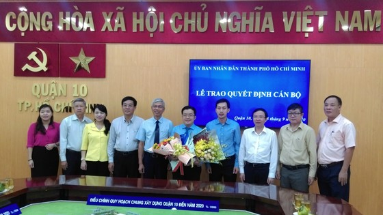 Ông Nguyễn Huy Chiến giữ chức vụ Phó Chủ tịch UBND quận 10 ảnh 2