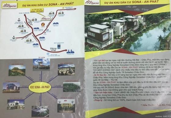 Điều tra vụ lừa bán đất 'ảo' ở Đồng Nai và Bà Rịa – Vũng Tàu ảnh 1