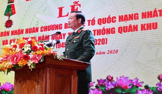 Quân khu 7 đón nhận Huân chương bảo vệ Tổ quốc hạng Nhất ảnh 1