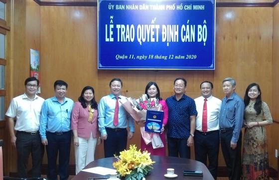 Đồng chí Trần Thị Bích Trâm giữ chức vụ Phó Chủ tịch UBND quận 11 ảnh 2
