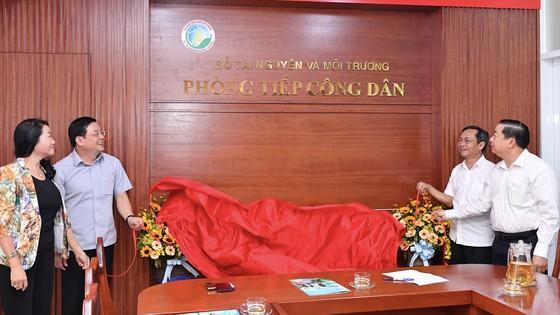 Sở Tài nguyên và Môi trường TPHCM ra mắt Phòng tiếp công dân ảnh 1